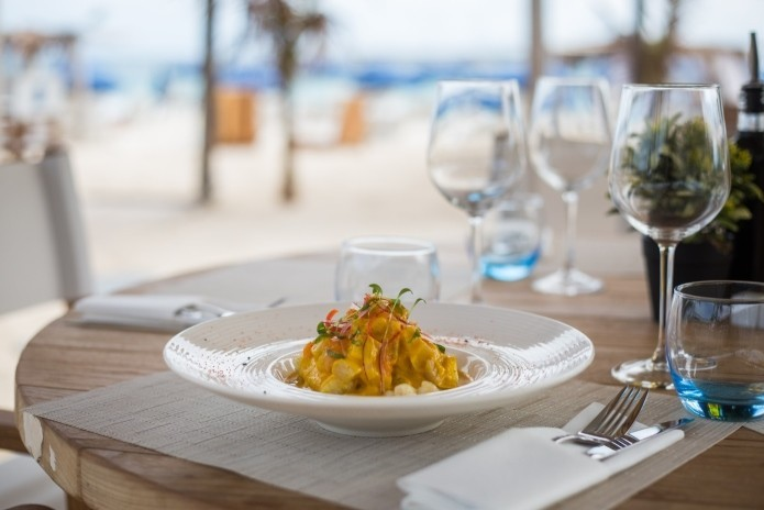 Restaurant in Orient Bay Saint Martin